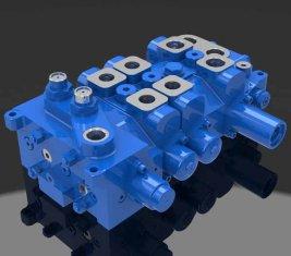 Multi - modo direzionale Hydraulic Valve 4 DP20GL-2 per gru
