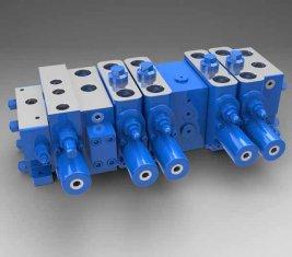 Porcellana Pieno carico sensibile Multi - direzionale a proposito idraulico valvola LTYB-G28L-5T fornitore