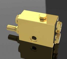 Gru un modo direzionale idraulico valvola a farfalla con navetta QY12-F5