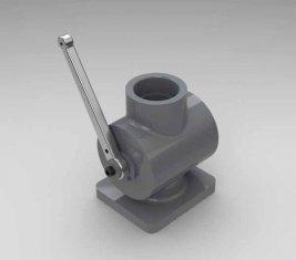 Spento direzionale QYG40 valvola idraulica per ruspe, pale caricatrici, raschietti