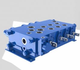 Crane combinatoria controllo direzionale idraulico valvola QYSF18-15