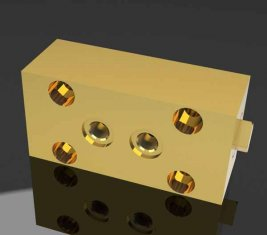 Asteroide Costruzione blocco valvola idraulica direzionale per lastrico macchine