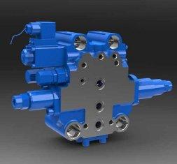 Porcellana SXHCF10L rotativo Buffer Valvola direzionale idraulico per motore Livellatrici fornitore
