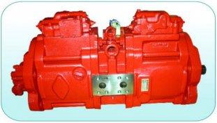 Porcellana 63cc, 112cc, 140cc piccole K3V63DT di pompe a pistoni idraulici, K3V112DT, K3V140DT fornitore