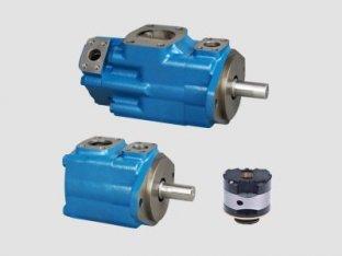 1200 Rpm Single Vickers Vane idraulica pompa con acqua in olio emulsioni