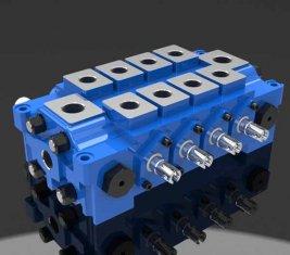 Porcellana Multiple idraulica combinato valvola di controllo direzionale DL per l'ingegneria fornitore