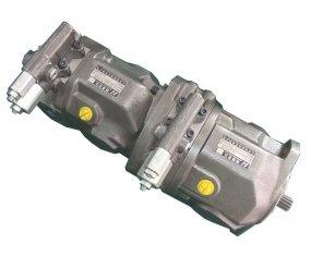 Flusso di controllo Tandem pompa idraulica A10VSO28 con Nm di coppia 125
